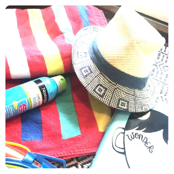 44d569e253aa55 Accessories | Super Cute Boys Straw Fedora Perfect For Summer | Poshmark